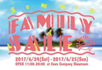 SAWS COMPANY SUMMER FAMILY SALE