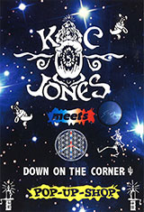 KC JONES meets DOWN ON THE CORNER POP-UP-SHOP