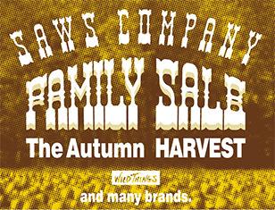 SAWS COMPANY AUTUMN FAMILY SALE